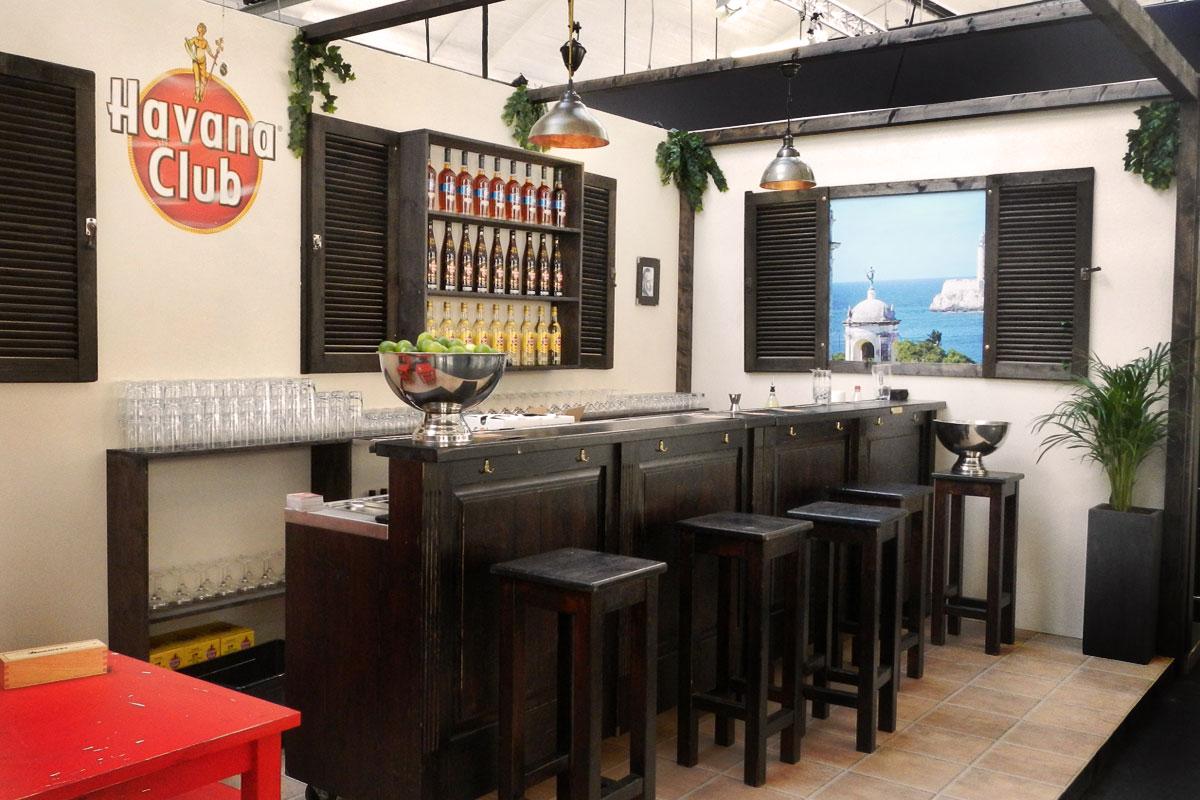 Havana Club BCB 2012 Stand Design Stil Manipulation