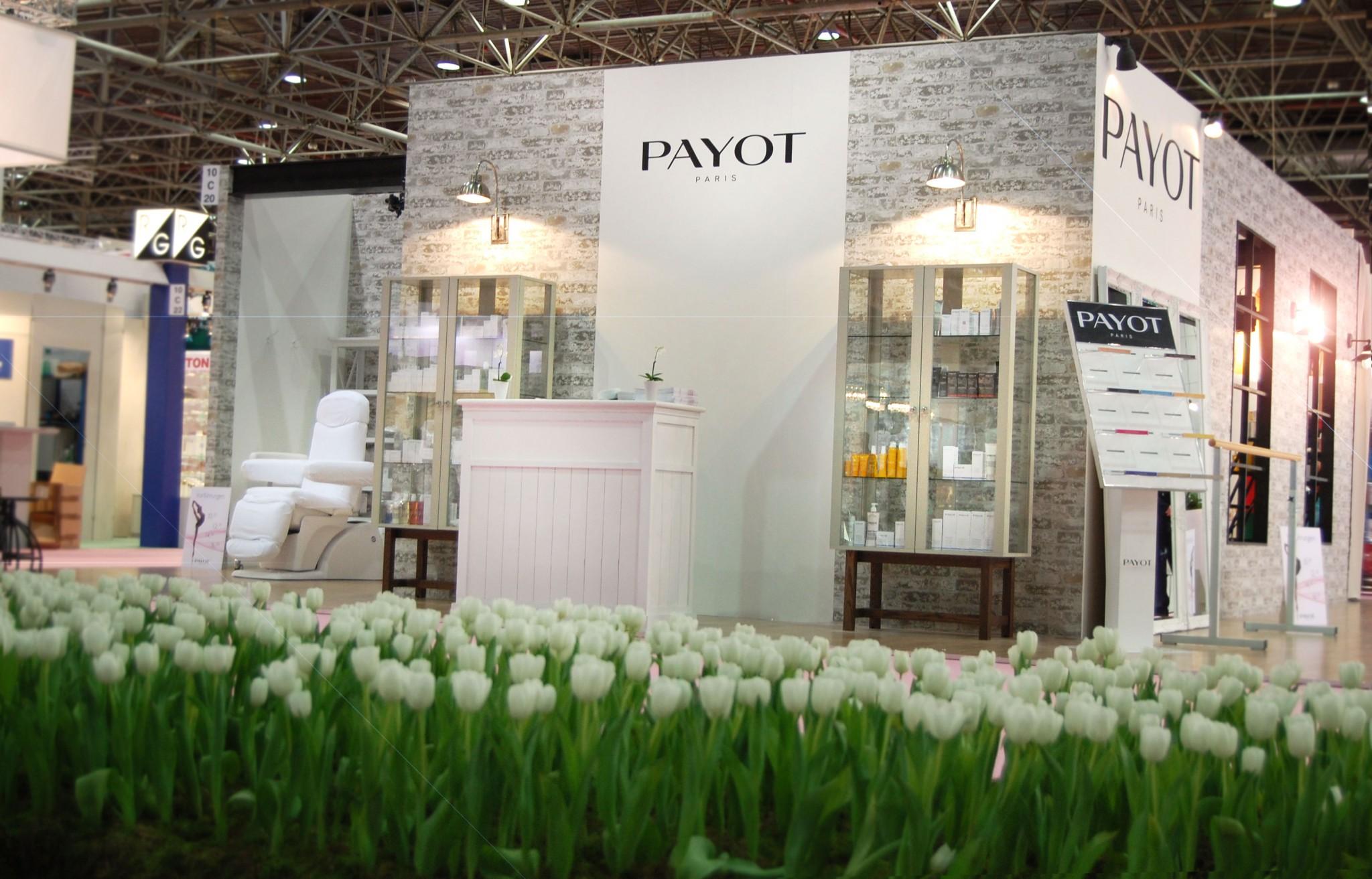 Payot Interbeauty 2014 Stand Design Stil Manipulation