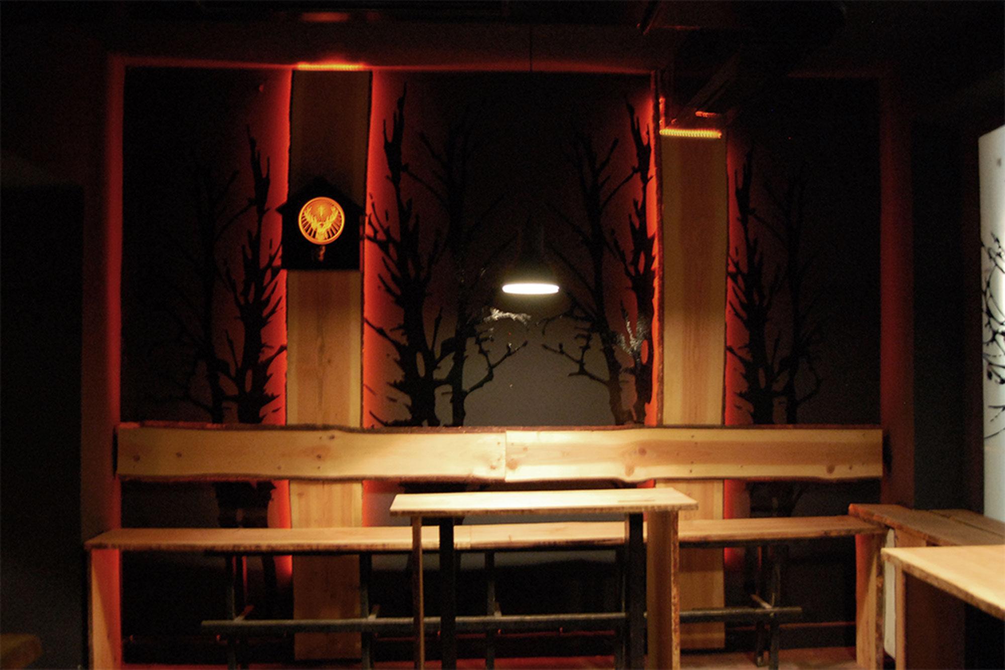 Jägermeister Lounge Design Stil Manipulation 2012
