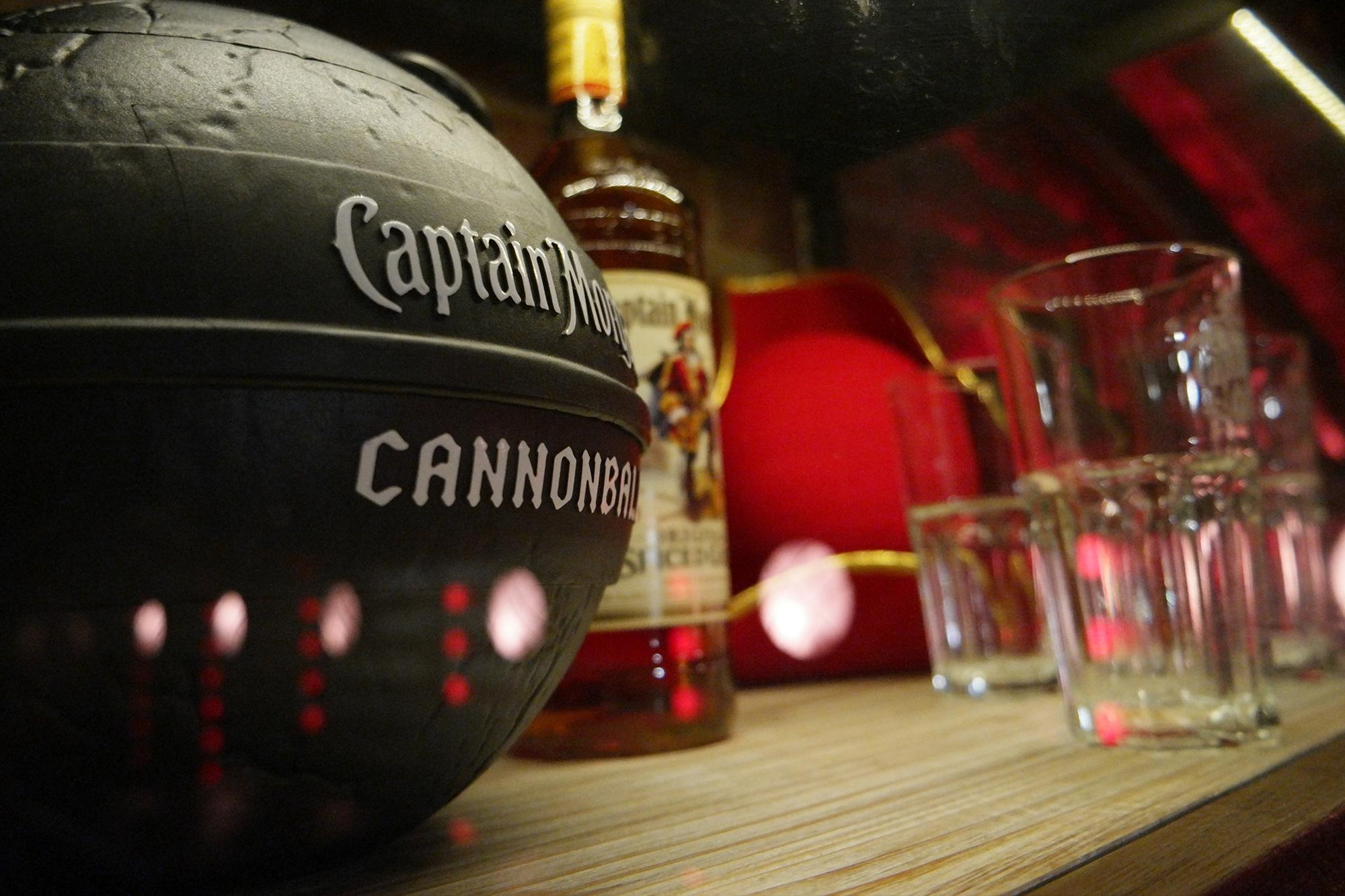 Captain Morgan Lounge Roonburg Design Stil Manipulation 2015
