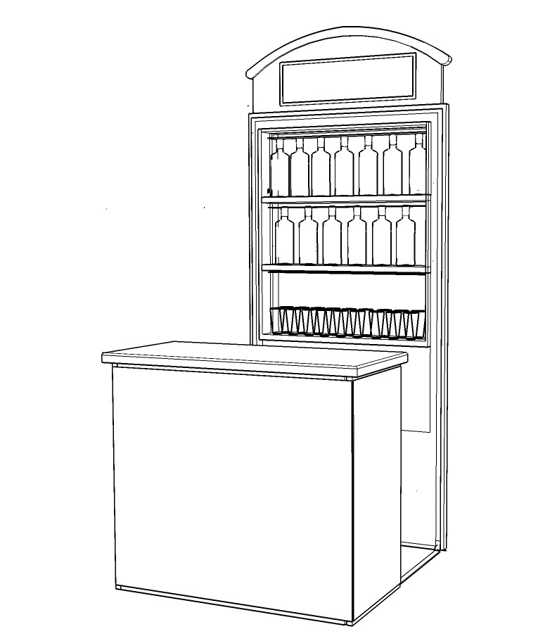 Beefeater Mobile Bar Design StilManipulation 2016