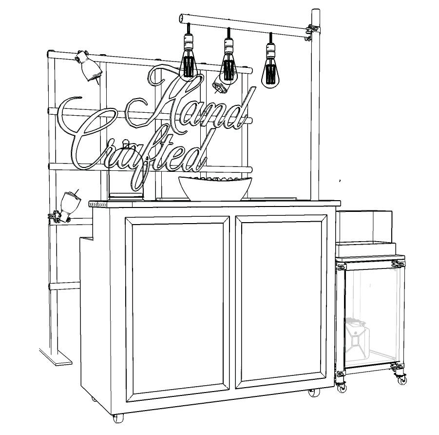 Absolut Elyx Mobile Bar Design StilManipulation 2016