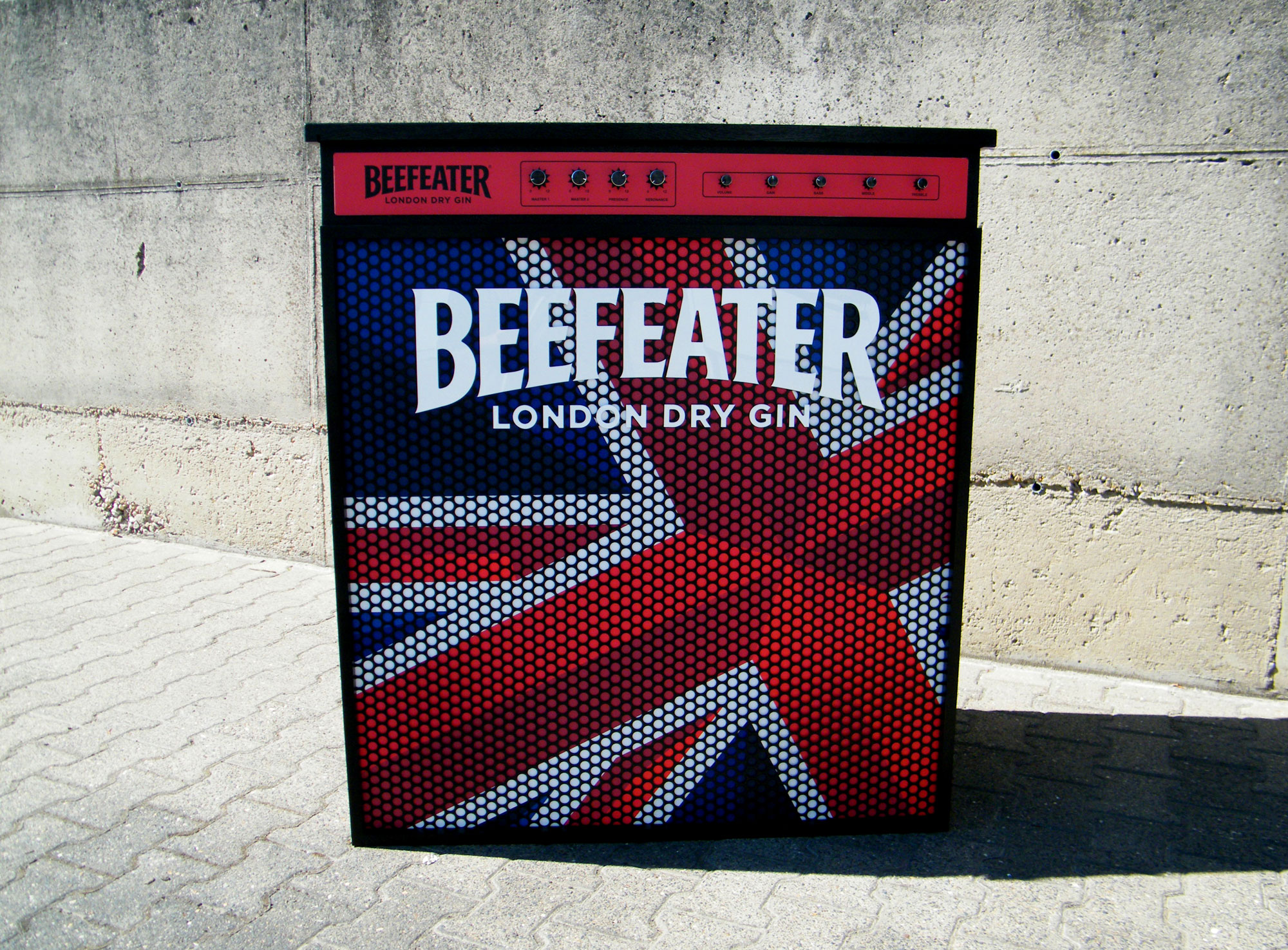 Beefeater Gin Mobile Bar stil manipulation 2016