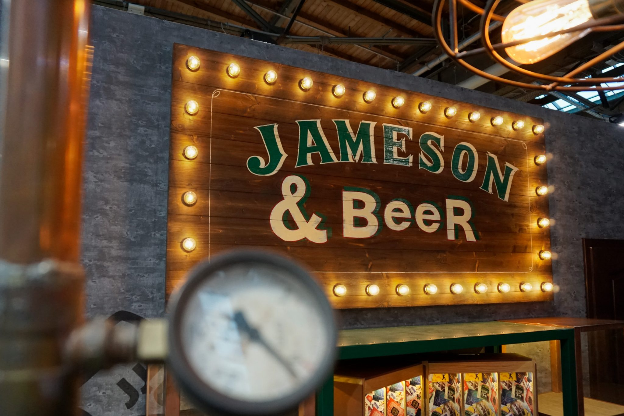 Jameson BCB 2017, Design Stil Manipulation 2017, Bar Convent, Messestand Design