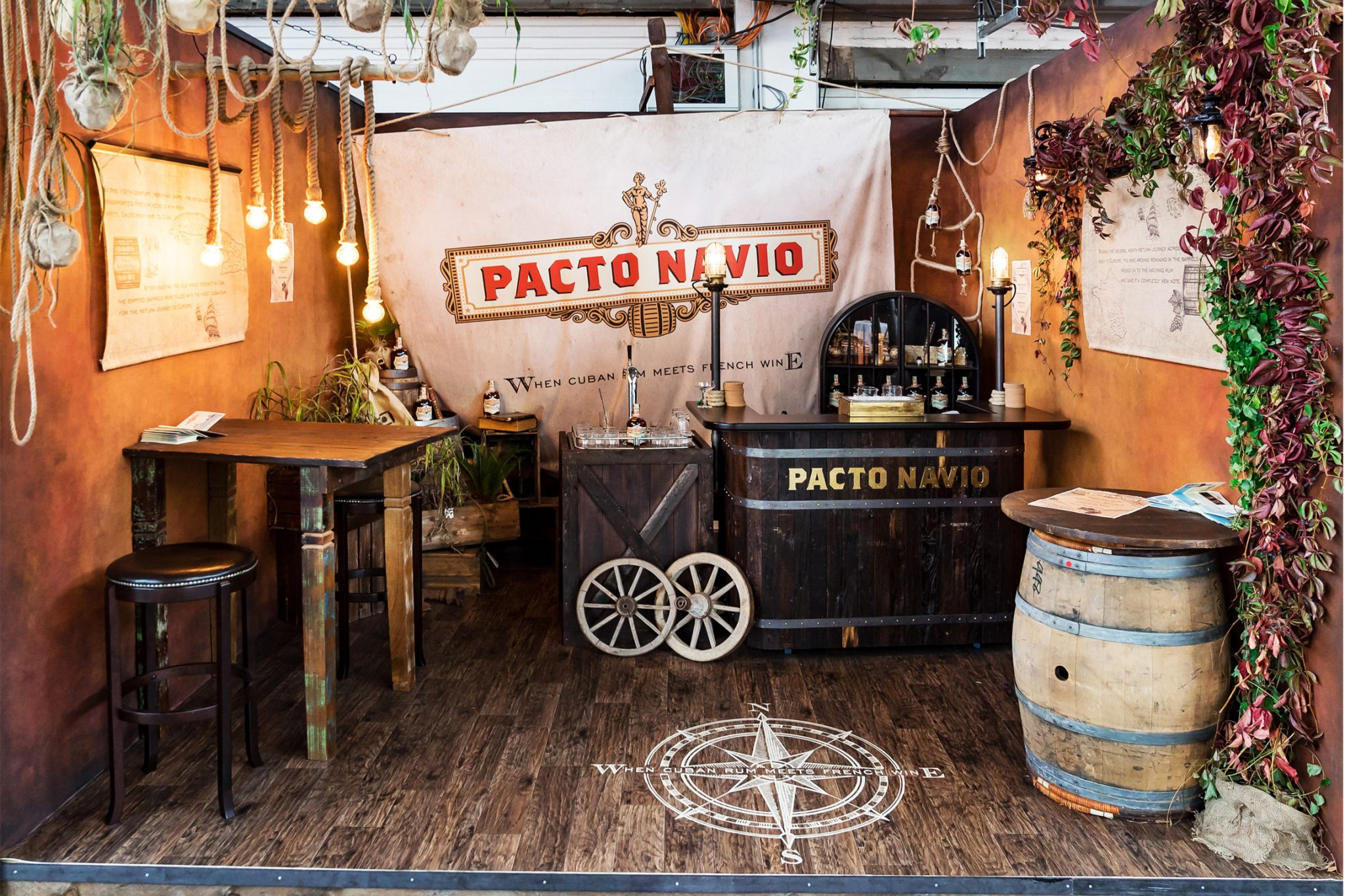 Pacto Navio BCB 2018, Design Stil Manipulation 2018, Bar Convent, Messestand Design
