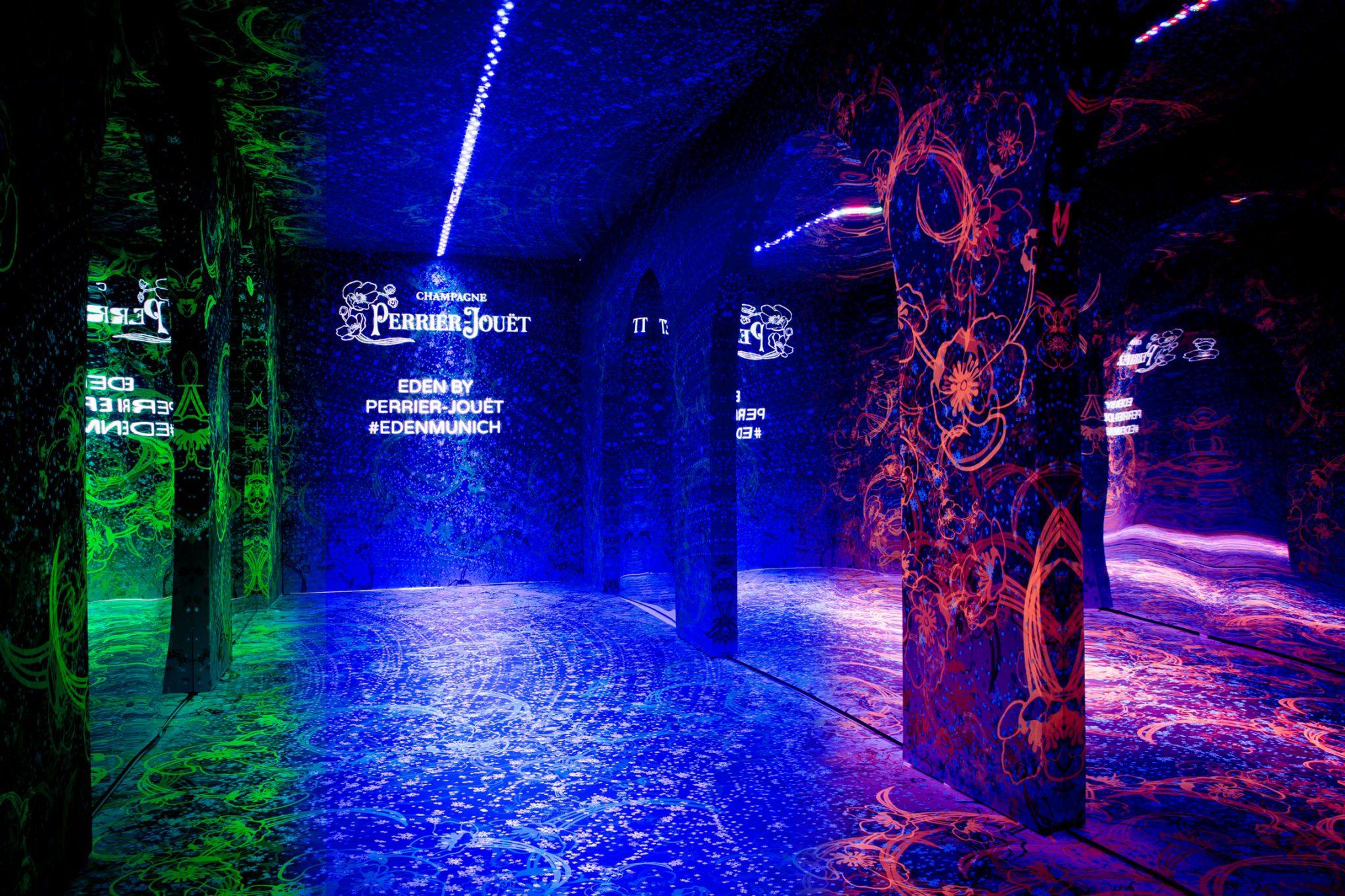 Perrier-Jouet, ArtOfTheWild, Stil Manipulation 2018, Eventgestaltung, Event Design