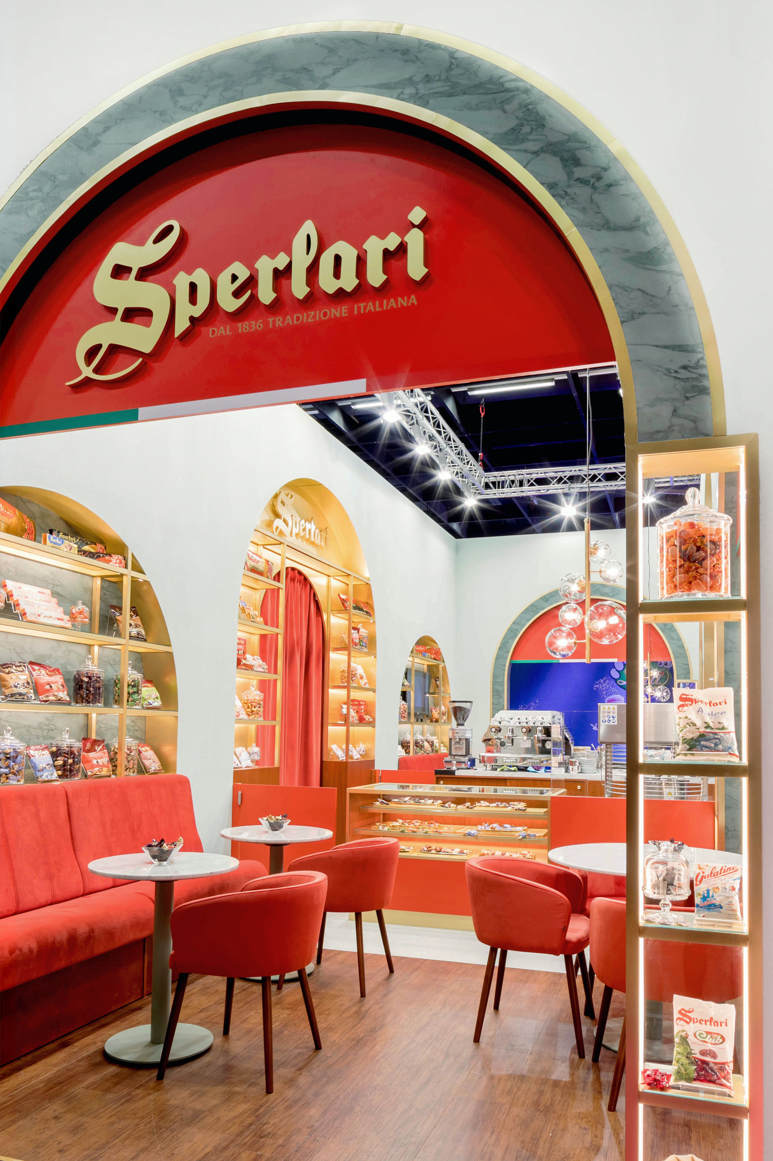 Sperlari ISM 2019, Design Stil Manipulation 2019,ISM, Messestand Design