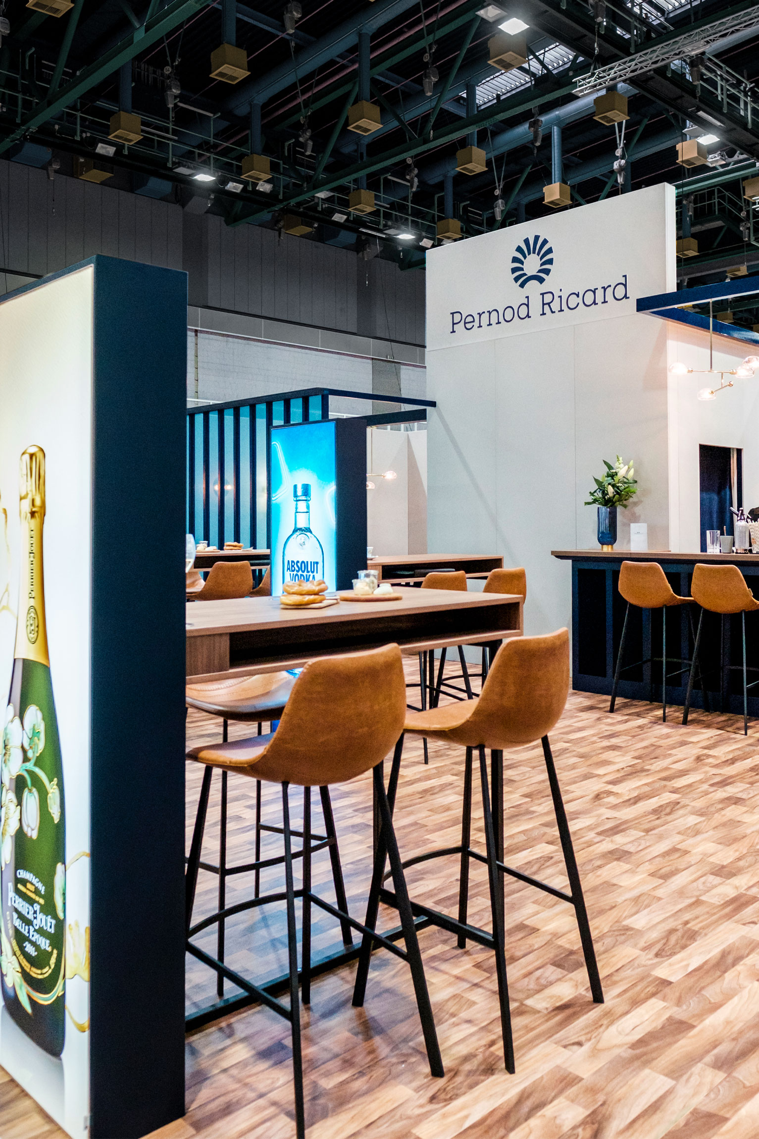 Pernod Ricard Messestand 2019, Design Stil Manipulation 2019, ProFachandel, Messestand Design, Messe Design, Messebau Köln
