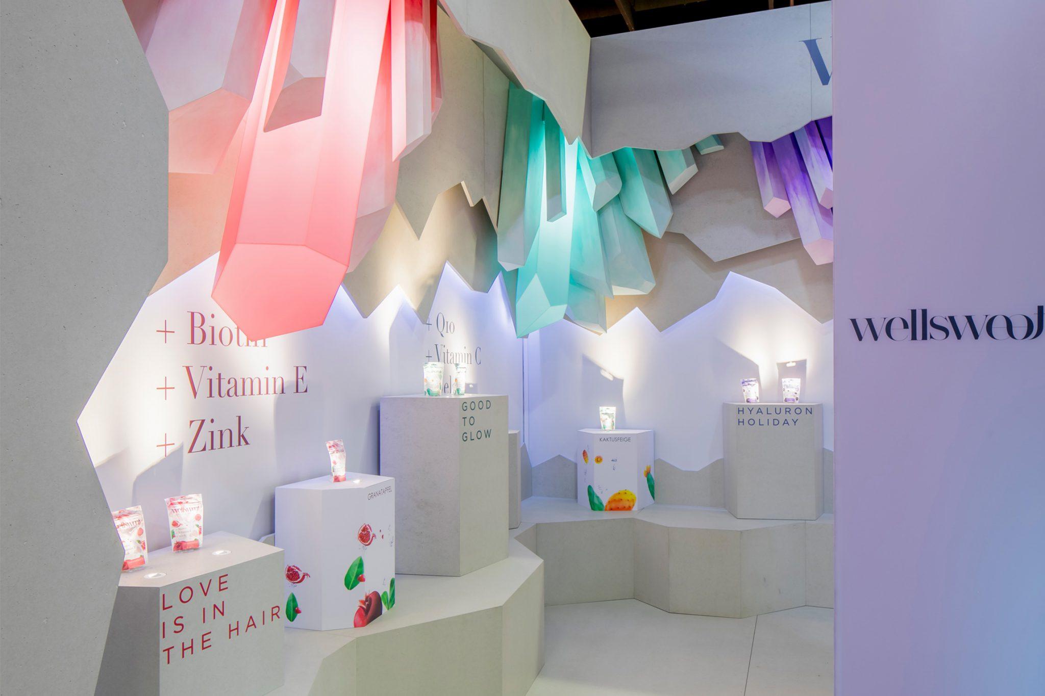 ISM Cologne 2020, International Sweet Expo, Design Stil Manipulation 2020, ISM 2020, Messestand Design, Messe Design, Messebau Köln, Wellsweet, Trade Show Design, Trade Show Booth Design,