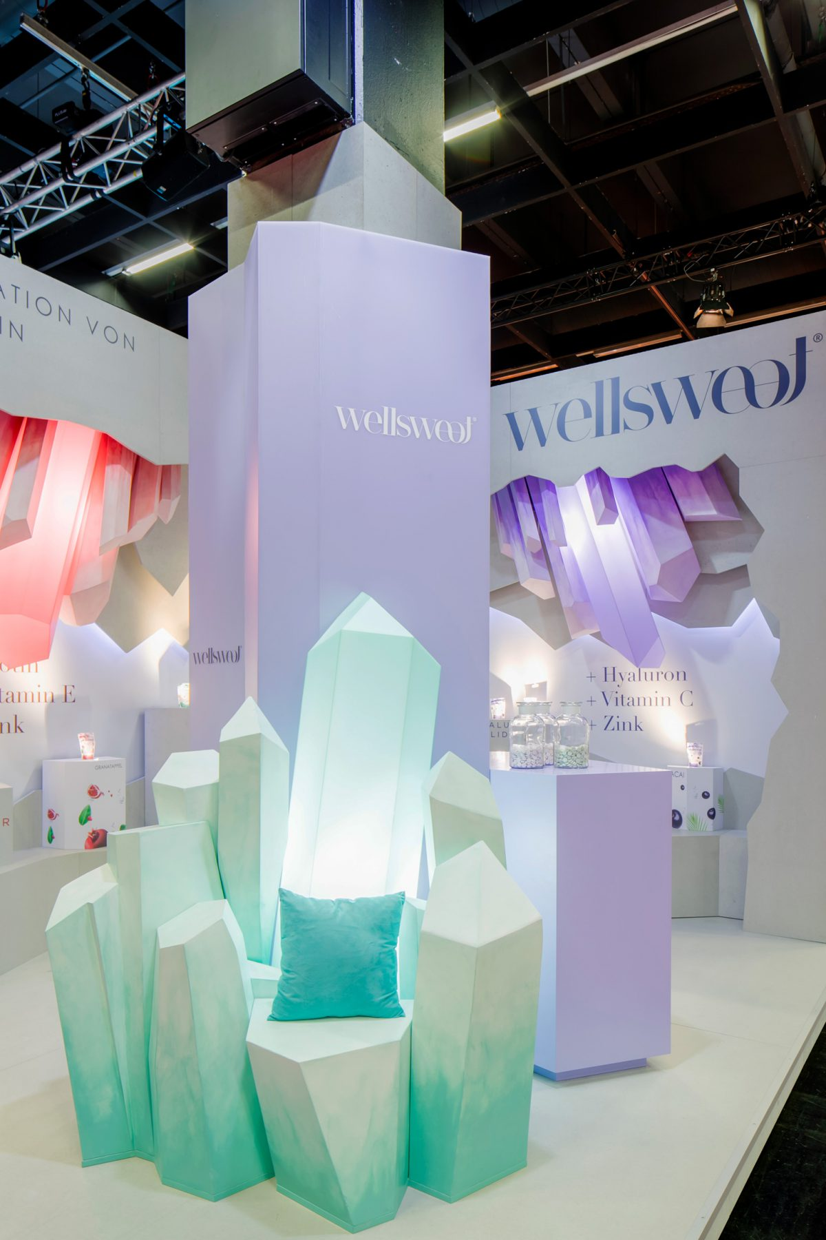 ISM Cologne 2020, International Sweet Expo, Design Stil Manipulation 2020, ISM 2020, Messestand Design, Messe Design, Messebau Köln, Wellsweet, Trade Show Design, Trade Show Booth Design,